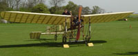 Shuttleworth Collection's 1909 Bleriot XI starting up its propeller, April 22, 2009.