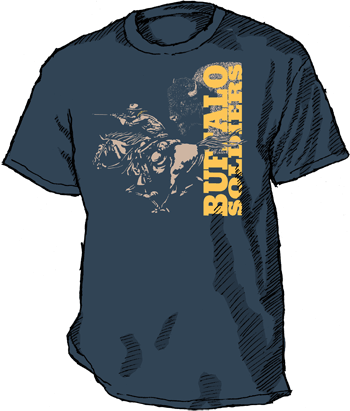 Buffalo Soldiers t-shirt image